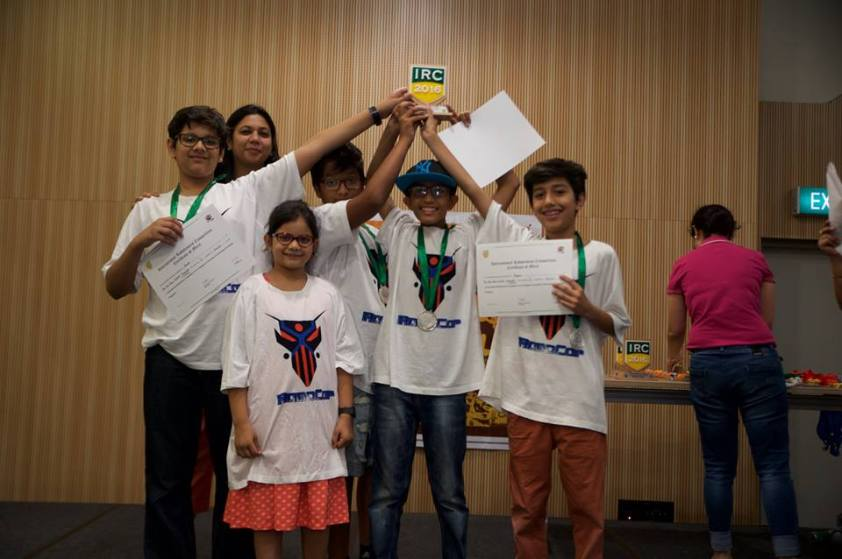 Won 2nd prize in IRC at Singapore